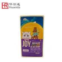 2017 hot sale laminated pet dog dry food plastic bag